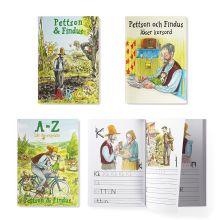 Pettson & Findus pysselböcker i ett paket