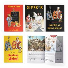 Pysselböcker med Jan Lööf i ett paket