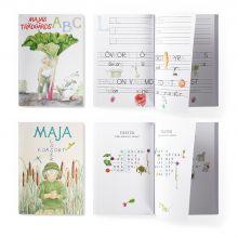 Majas pysselböcker i ett paket