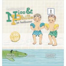 Tvillingarna Nico & Phille på badhuset