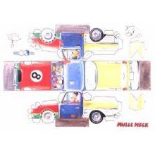 Mulle Meck bygger en bil klippark