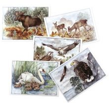 Landskapsdjur - kort
