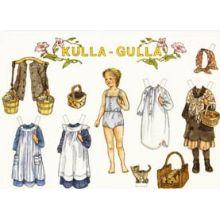Kulla Gulla A4-kort
