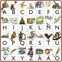 Mitt första alfabetspussel