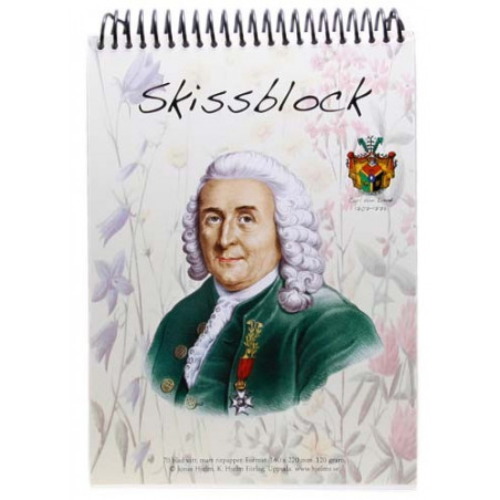 Carl von Linné Skissblock