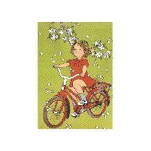 Lotta på cykel A4