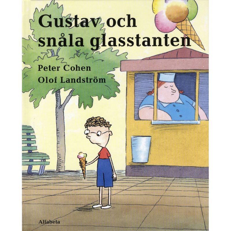 Gustav och snåla glasstanten