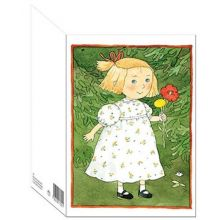 Ellen dubbelt kort med kuvert