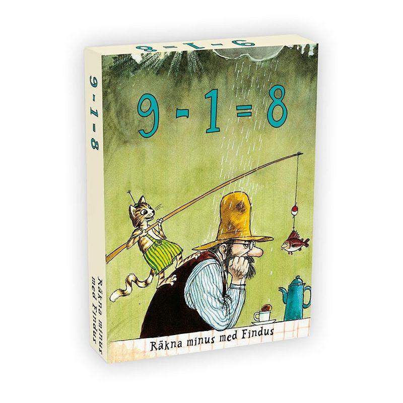 Findus 9-1 8 räkna minus med Findus