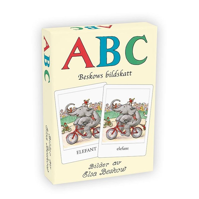 ABC-kortlek Beskows bildskatt