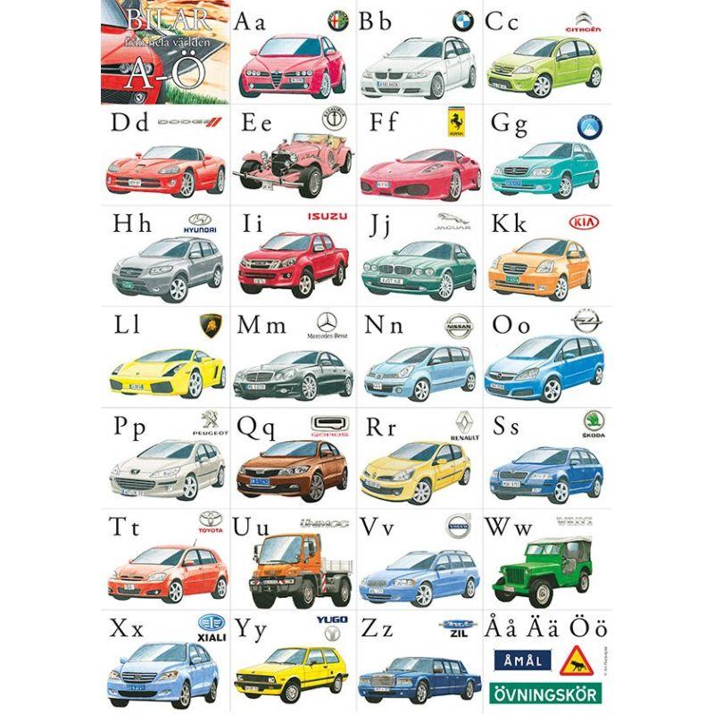 Bilar från hela världen A-Ö