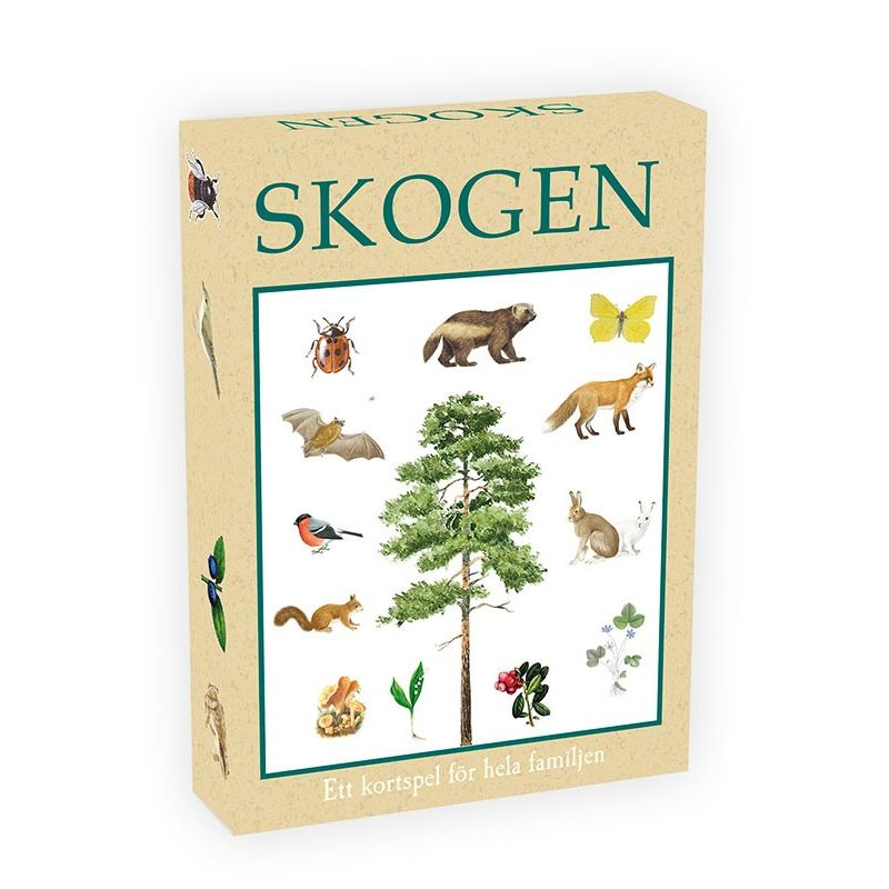 Skogen kortspel