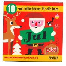 Pixi Jul 10 små bilderböcker för alla barn