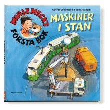 Mulle Mecks första bok Maskiner i stan