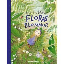 Floras blommor - Minibok