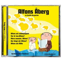Alons Åberg CD gul