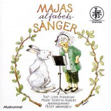 Majas alfabetssånger CD