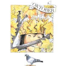 Oktober - Linneas månadsbilder  - Vykort
