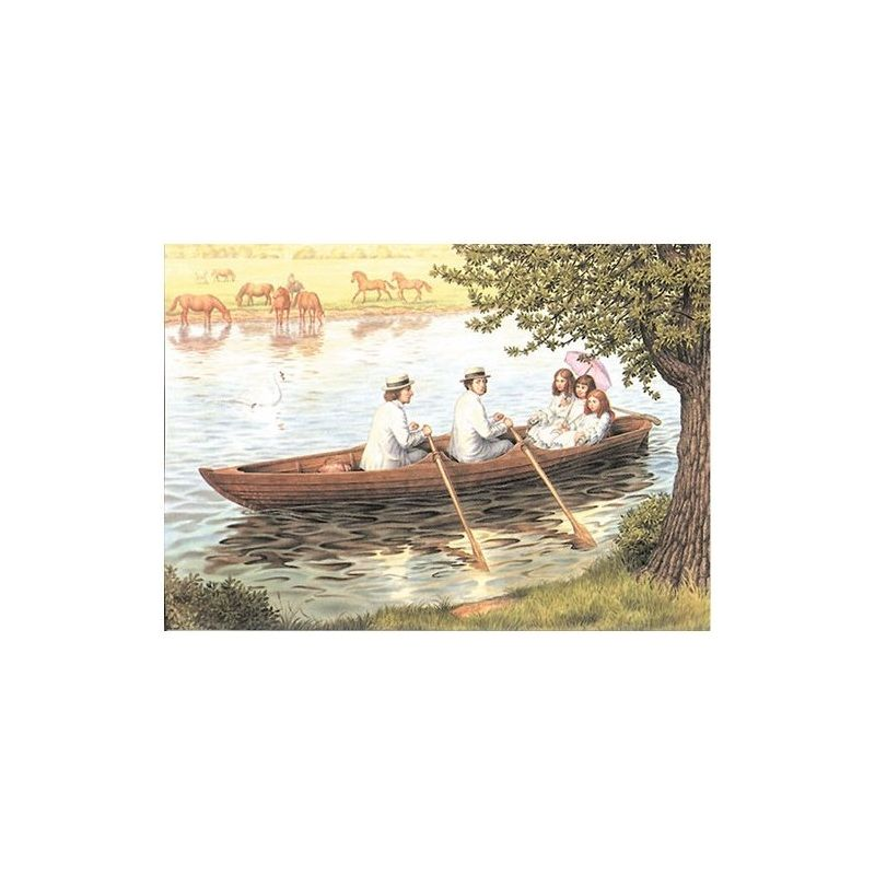 Sagan om Alice i verkligheten, båttur A4