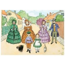 Tant Grön, Tant Brun, Tant Gredelin, promenad A4