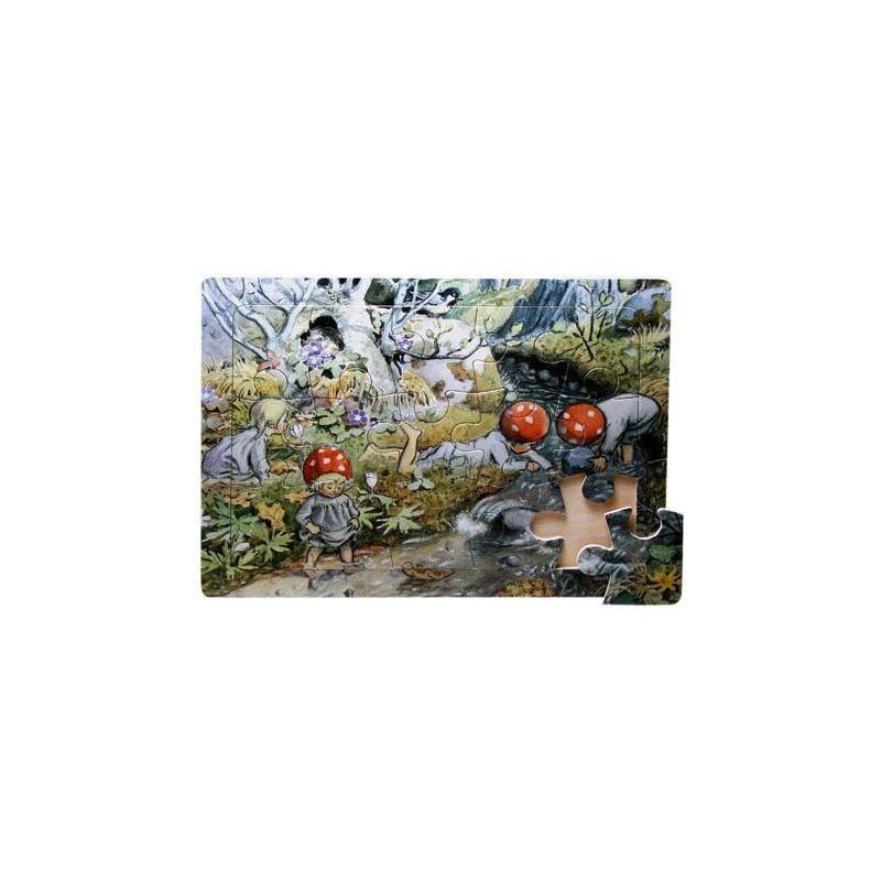 Tomtebobarnen Rampussel Trä
