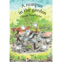 A rumpus in the garden