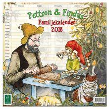 Pettson & Findus familjekalender 2018