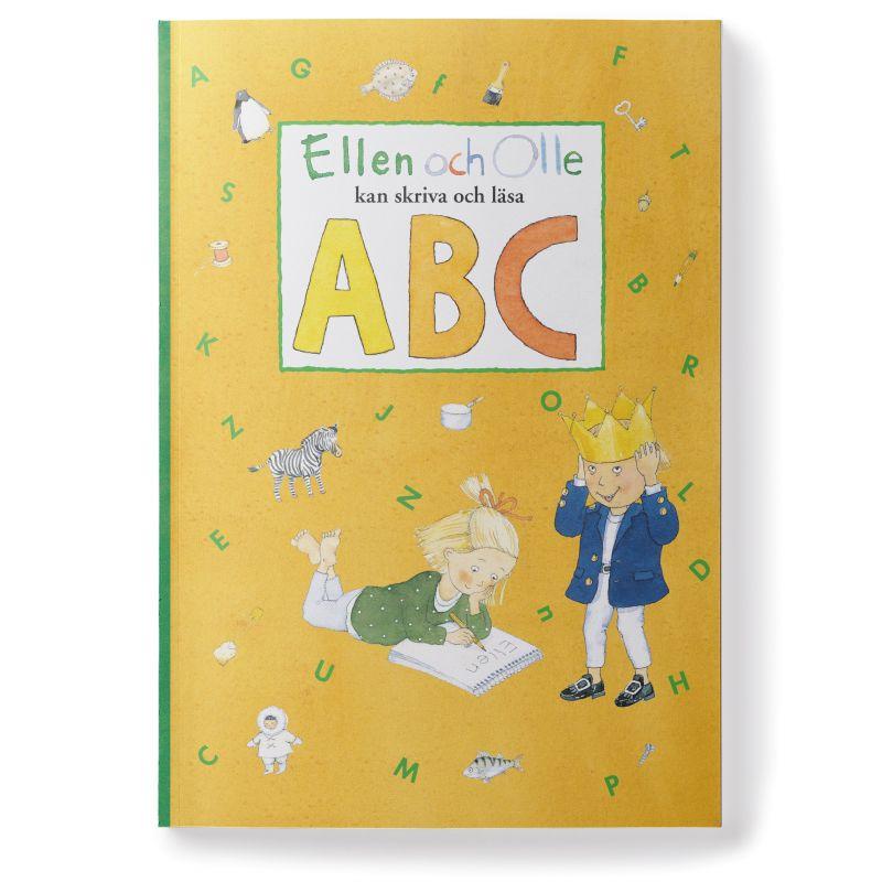 Ellen och Olle kan skriva och läsa ABC