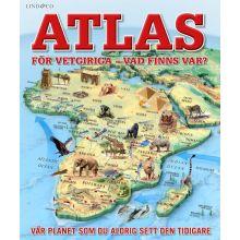 Atlas för vetgiriga - vad finns var?