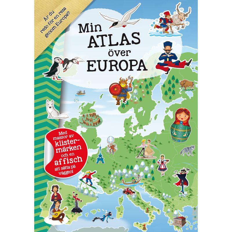 Min atlas över Europa pysselbok