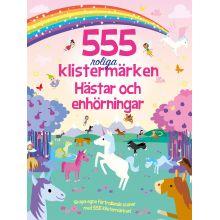 Hästar och enhörningar 555 roliga klistermärken