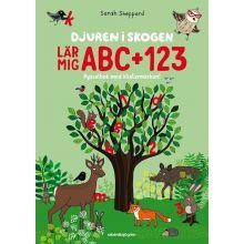 Djuren i skogen , lär mig ABC + 123