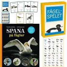 Lär dig att spana på fåglar med det här bokpaketet