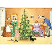 Petters och Lottas jul Poster 50 x 70 cm