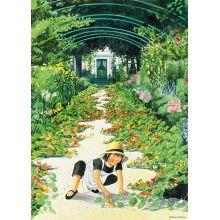 Krassegången - Linnea i målarens trädgård affisch 50x70 cm