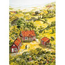 Pettson och Findus gården affisch
