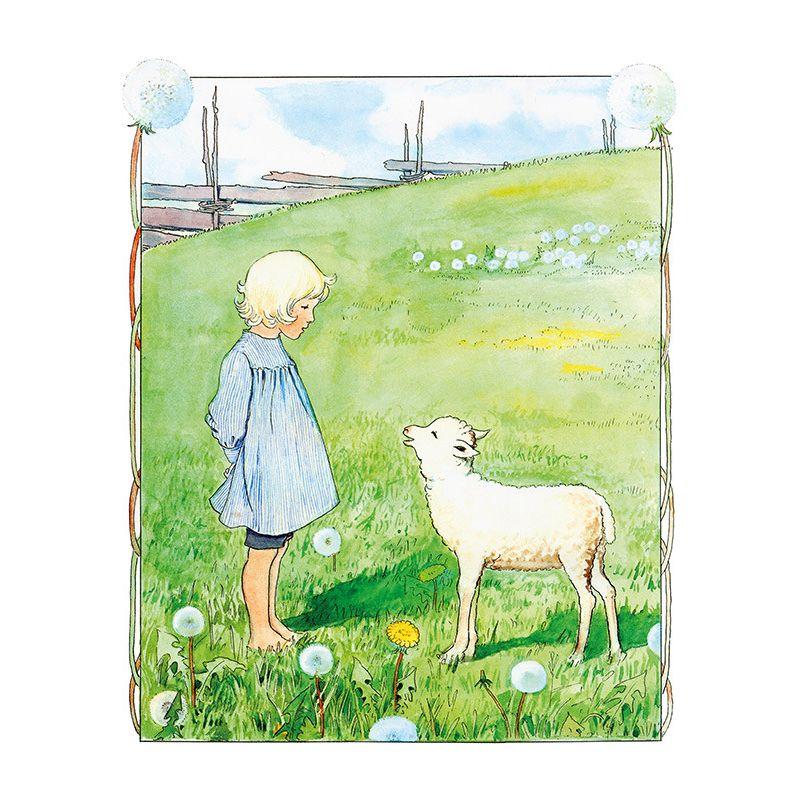 bä bä vita lamm