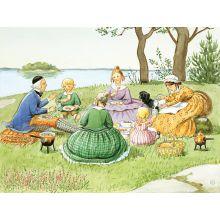 Tanterna picknick miniaffisch