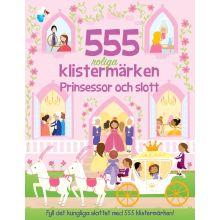 Prinsessor och slott 555 roliga klistermärken