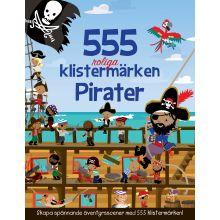 Pirater 555 roliga klistermärken