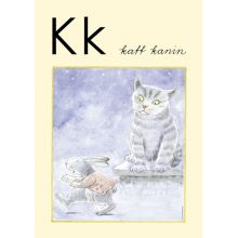 "Alfabetsposter - Lilla ""t"" K"