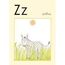 "Alfabetsposter - Lilla ""t"" Z"