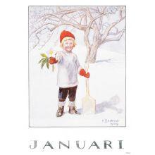 Månadsbild - Januari, Beskow
