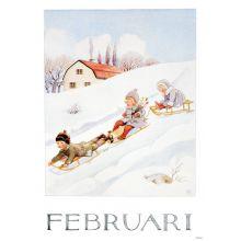 Månadsbild - Februari, Beskow