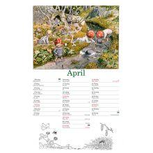 Tomtebobarnens kalender 2019