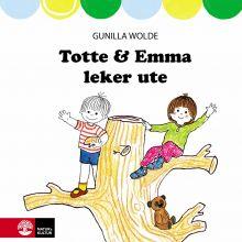 Totte & Emma leker ute