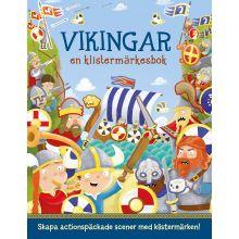 Vikingar en klistermärkesbok