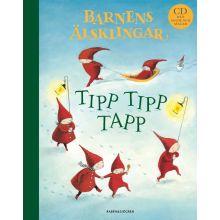 Tipp tipp tapp - Barnens älsklingar (med CD)
