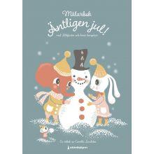 Äntligen jul målarbok