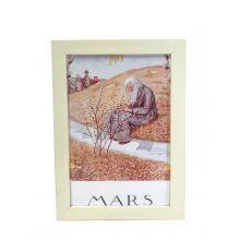 Månadsbild - Mars, Beskow A4 TAVLA
